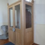 Internal view completed Porch in Oak.