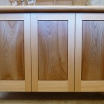 Lovely Elm door panels with a blond Elm frame