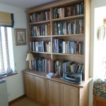 In use, Oak bookacse with books!
