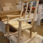 Rocker in Ash ready for delivery