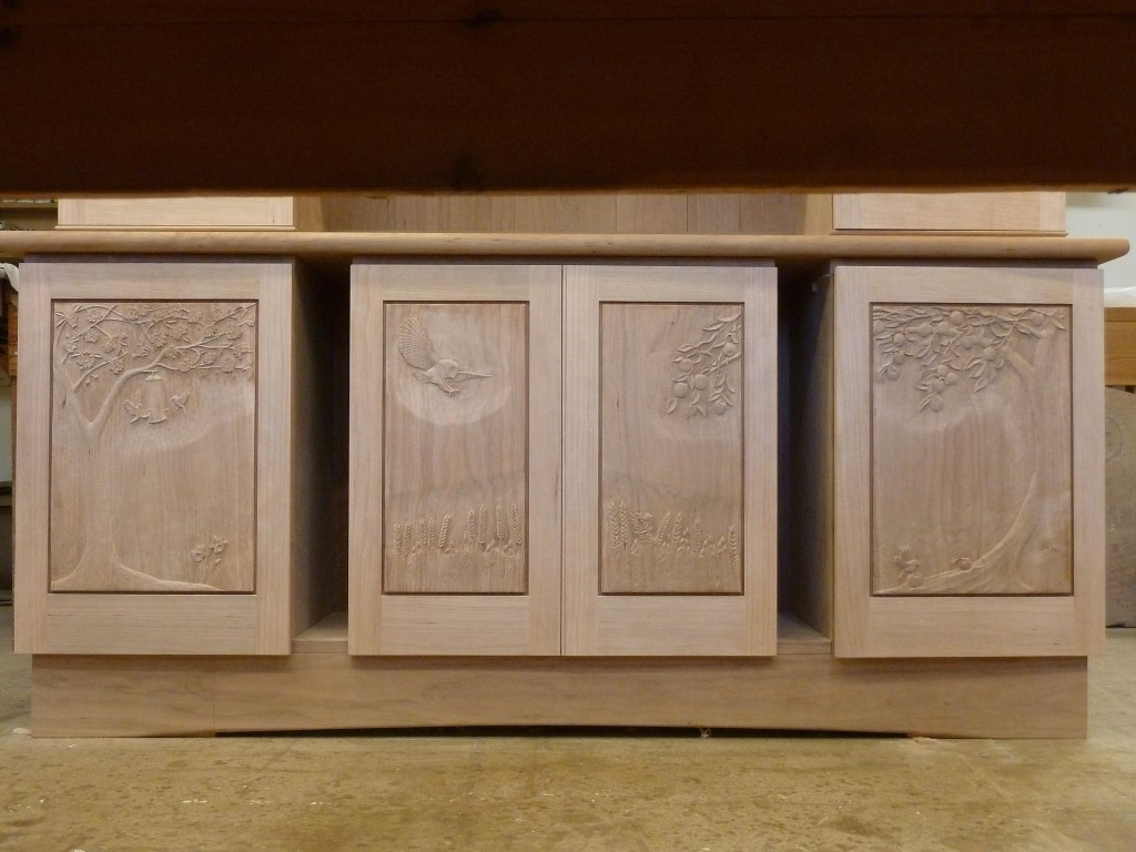 carvings complete ready to oil.